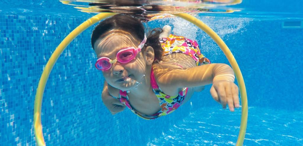 Alex Robin cours de natation